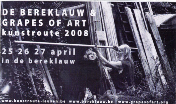 Grapes of Art & De Bereklauw op Kunstroute 2008