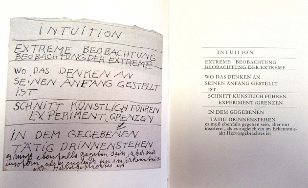 Beuys - Intuition